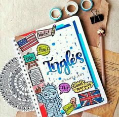 School Organization Notes, School Notes, Bullet Journal School, Bullet Journal Inspo, Lettering Tutorial, Hand Lettering, School Book Covers, Neat Handwriting, Pretty Notes