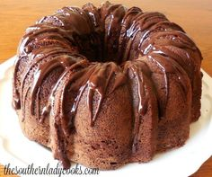 Chocolate pound cake is wonderful and delicious for any occasion or holiday. Your guests and family will love this cake. Children will love it, too. Great with any topping or just sprinkled with powdered sugar.