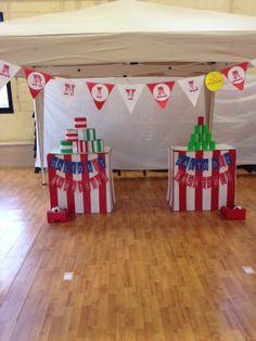 Game Time! #party #festa #bambini #maschere #circusparty #allestimento #giochi