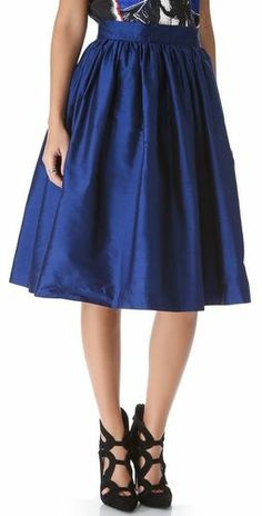 Pretty blue skirt