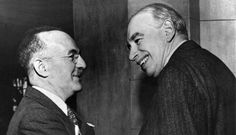 """Harry Dexter White and John Maynard Keynes were the theoreticians who guided the 1944 Bretton Woods Monetary Conference at which the IMF/World Bank was created. White was a member of the Communist Party. Keynes was a member of the Fabian Society. They shared the same goal of international socialism. The IMF/World Bank has furthered that goal ever since."""
