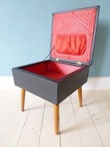 Vintage 60s sewing box