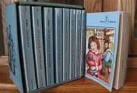When I was a girl I loved to read the Little House on the Prairie books.
