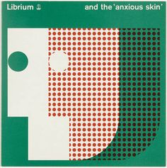 Librium and the anxious skin (cover) — Rolf Harder (1963)