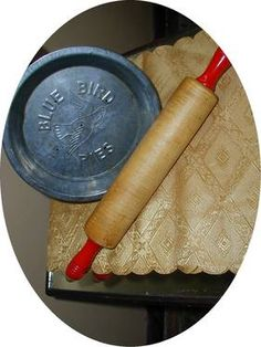 Red Handled Rolling Pin