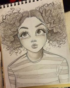 cute, creepy, Melanie Martinez girl inspired drawing by Christina Lorre