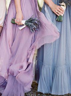 Blue Bridesmaids, Blue Bridesmaid Dresses, Wedding Bridesmaids, Wedding Dresses, Flowy Dresses, Flowy Gown, Bohemian Bridesmaid, Bridesmaid Bouquets, Bridal Bouquets