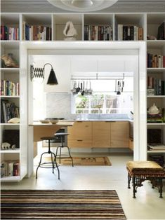 desire to inspire - desiretoinspire.net - Michael Bechara encore (LOVE bookcases like this)