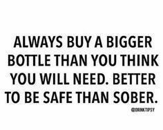 Safe than sober