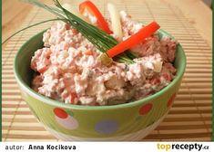Czech Recipes, Ethnic Recipes, Ham, Potato Salad, Oatmeal, Food And Drink, Potatoes, Snacks, Breakfast