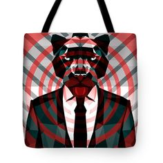 Panther Tote Bag Panther Bag Beach Bag Shopping Bag Large Bag by Filip Aleksandrov