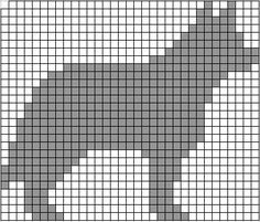 ChemKnits: Dog Themed Knitting Charts