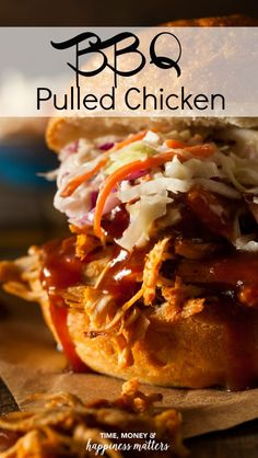 One of my priorities has been to eat healthier, which means cooking at home and knowing exactly what is going into each meal. I've found some recipes that were easy and delicious, and wanted to share it with you. I honestly love pulled pork, but found the BBQ Pulled Chicken recipe in Cuisine magazine's Slow Cooker Menus and absolutely love this healthier alternative! via @jen_dunham