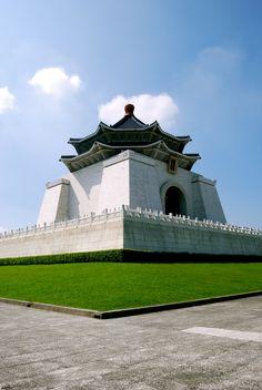 Taiwan. Chiang Kai-shek Memorial