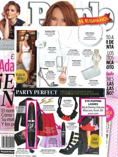 Get a party perfect look with our Big & Daring Volume Mascara featured in @peopleenespanol!