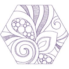 Creative Line Quilting Quilting Designs, Embroidery Designs, Embroidery Supplies, Free Motion Quilting, Swirls, Line Art, Quilt Patterns, Symbols, Shapes