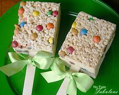 Cheap and easy to make rice crispy treats on a stick.  Go wild and use a cookie cutter for the design of your choice. This would be a cute idea when Brantley gets older and has to take snacks to something he is involved in