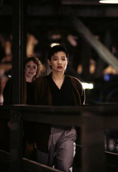Still of Joan Chen as Josie Packard and Piper Laurie as Catherine Martel in Twin Peaks (1990) via imdb.com