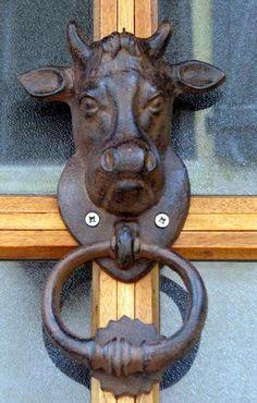 trucadors aldabas | Stier Türklopfer | Bull Door Knocker