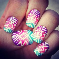 Tribal ombre.
