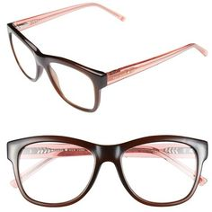 Women's kate spade new york 'destinee' 51mm reading glasses ($64) ❤ liked on Polyvore featuring accessories, eyewear, eyeglasses, glasses, reading glasses, kate spade, lightweight eyeglasses, kate spade eye glasses and kate spade eyewear