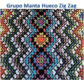 Tutorial Manta Hueco Zig Zag | Buscando Comienzos
