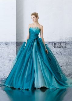 This Ball Gown is gorgeous. Especially the colors!