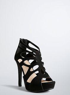 91306f2db50 Scallop Cutout Heels (Wide Width)Scallop Cutout Heels (Wide Width)