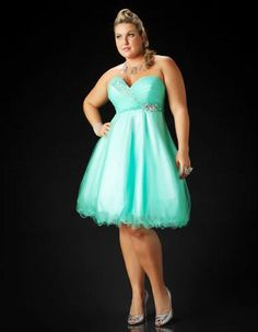 Plus size short dresses formal