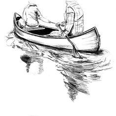 #mulpix Can't wait to go back to Canada (next time in the summer!) #canoe #paddle #illustration #lake #canada #explorebc #explorecanada #drawing #sketch #art #biro #pen #camping #modernoutdoorsman #thisshouldbestolen #liveauthentic #theNWadventure #adventurethatislife #wolftreemag #madebyams