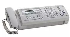 Compact Plain Paper Fax/copier with Answering System Office Phone, Landline Phone, Compact, Paper, Top, Articles, Lifestyle, Crop Shirt, Shirts
