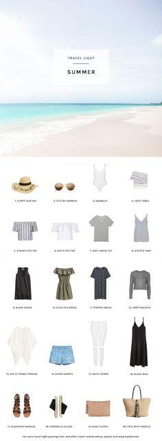 Summer Packing List on a Budget