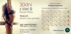 Być idealną - lifestylowy blog o aktywności fizycznej i zdrowym trybie życia: Wyzwanie 30 dni z Mel B + Tiffany