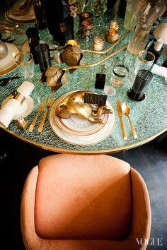 Kelly Wearstler Table Setting