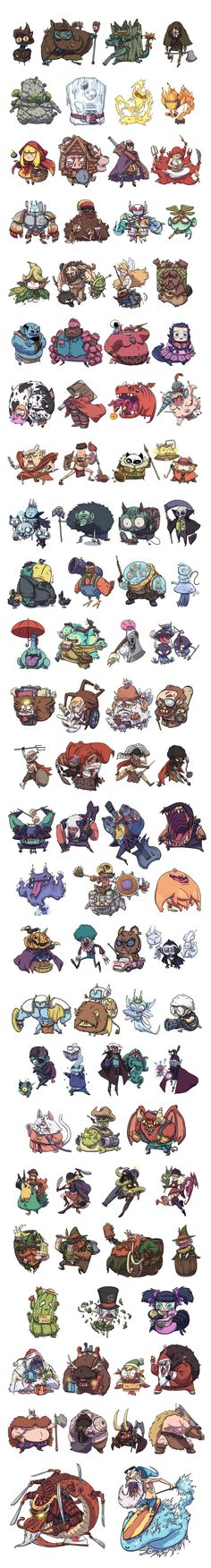 Character designs compilation by BattlePeach on DeviantArt ★ || CHARACTER DESIGN REFERENCES • Find us on www.facebook.com/CharacterDesignReferences and www.pinterest.com/characterdesigh Remember that you can join our community on www.facebook.com/groups/CharacterDesignChallenge and participate to our monthly Character Design contest || ★: