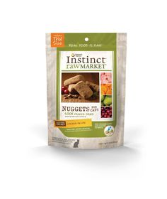 Nature's Variety Instinct Raw Market Grain-Free Freeze Dried Nuggets for Cats -- Be sure to check out this awesome product.