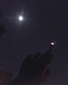 You'll always be here with me #moon #smoke