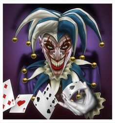 127 Best Jokers Wild Images Clowns Dibujo Joker Card