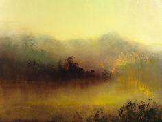 "Saatchi Online Artist: Maurice Sapiro; Oil, 2011, Painting ""Marsh Mist"""