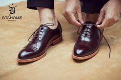 Oxford cap toe Brown Top-grain  99$