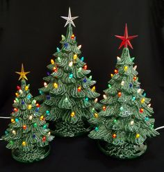 Largest Ceramic Tree Collection in one place! https://www.facebook ...