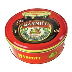 Marmite Cake Tin Marmite!hate it!...