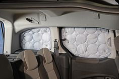 Verdunklungssystem Citroen Berlingo / Peugeot Partner - Heckbereich Peugeot, Berlingo Camper, Camping Box, Van Life, Partner, Car Seats, Winter, Rear Window, Room Interior