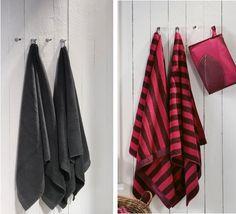 Sewn-In Loops on Bath Towels