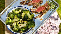 Lampaankare ja valkosipuliparsakaali Broccoli, Keto, Vegetables, Cooking, Food, Baking Center, Kochen, Hoods, Vegetable Recipes