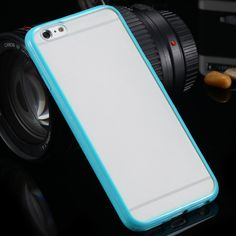 Whoa, super slim and colorful. This iPhone case is making everyone go wild. The super Slim is easy to put on and it has a transparent matte color on the back of