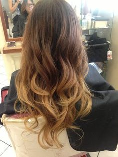 @Amy Lyons Lyons Lyons Green ombre dark to light | Black brown blonde ombré | Yelp I like this!