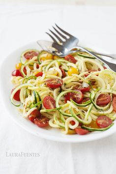 For nights you want a quick veggie filled meal, this delicious spiralized zucchini and tomatoes recipe is both satisfying and delicious. Like many of the recipes in my latest cookbook, The Best Grain Free Family Meals on the Planet, this practical recipe comes together quickly, literally in a matter of minutes. Watch just how easy! …