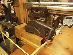 Tips and Jigs for the Shop #14: Radial Arm Saw Dust Collection...Precision Control of the Dust...... - by Jim Bertelson @ LumberJocks.com ~ woodworking community
