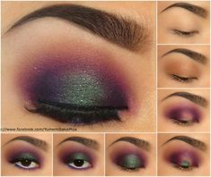 Sooo pretty! I think I can do this look with my makeup forever pallet!